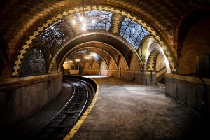 Hidden subway station New York