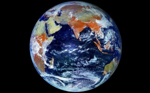 Earth Megapixel  photo